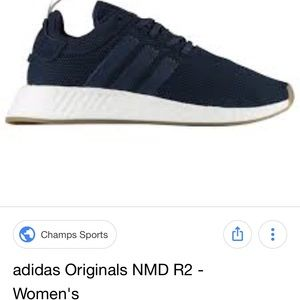 Adidas NMD r2 navy blue size 7